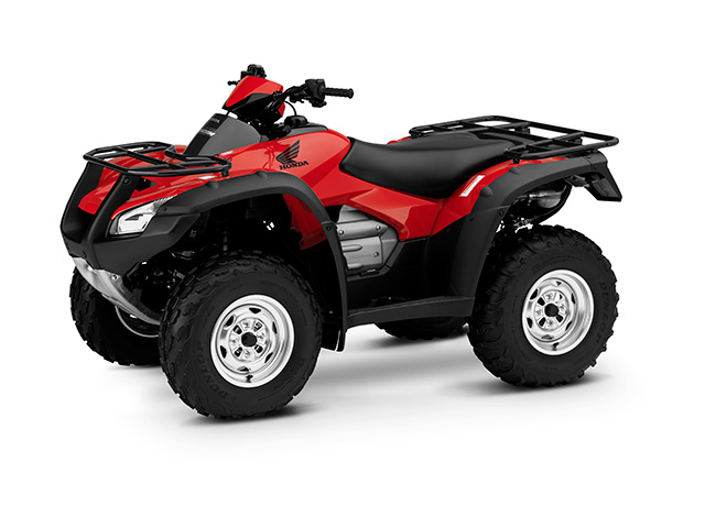 The Rincon is one of three 2017 ATV models from Honda. It's a small sized vehicle with a 420cc, liquid-cooled, fuel-injected engine. (Photo courtesy of Honda)