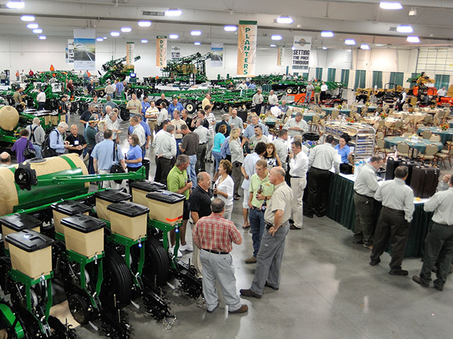 Great Plains holds its annual dealer meetings in Kansas City. At this summer's meeting, dealers will have a lot more to talk about. (DTN/The Progressive Farmer photo by Jim Patrico)