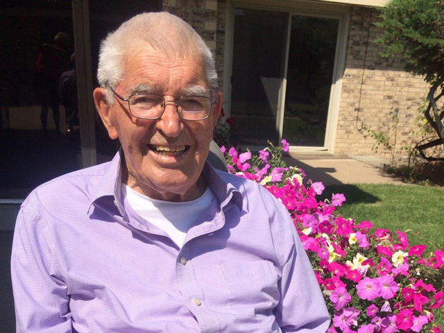 Lance Woodbury's grandfather Roger mentored and counseled dozens of people in his Kansas community over his lifetime. (Photo courtesy of the Woodbury family)