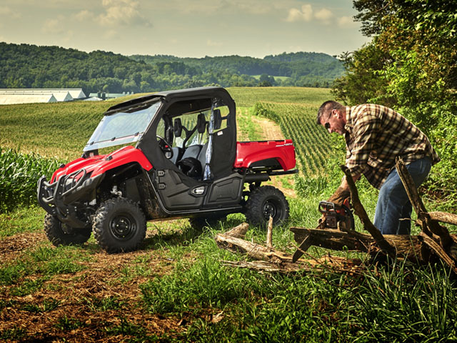 The new Viking from Yamaha is one of several new utility side-by-sides to hit the market. Each is equipped to do work on the farm or ranch. (Photo courtesy of Yamaha)