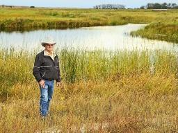 A stream restoration project brought back forage production to Roy Stewart's Nebraska Hereford operation. (DTN/Progressive Farmer photo by Brooke Kaczor)