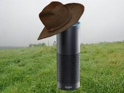 Amazon Echo's Alexa has an embarrassingly poor knowledge and wisdom base when it comes to almost anything country, John Harrington discovered. (DTN photo illustration by Scott Kemper)