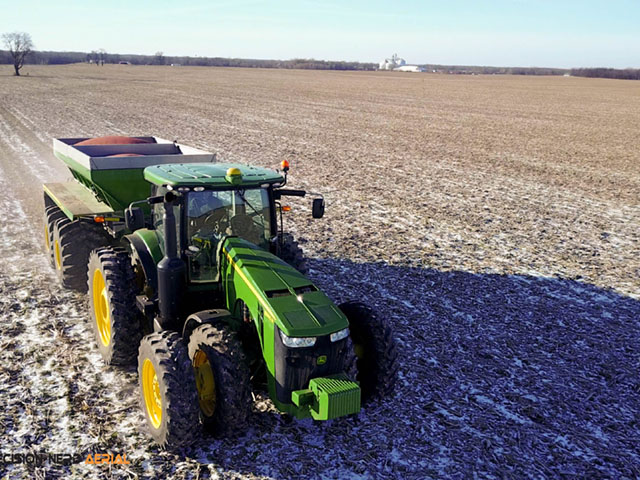 Potassium fertilizer application in corn and soybean production is an important aspect and often overlooked. (Photo courtesy of Michael Cline)