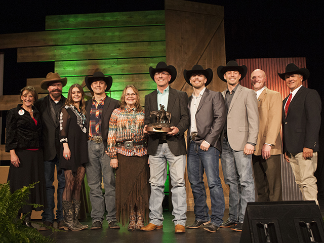 The Environmental Stewardship Award Program kicked off in 1991, recognizing ranches from seven regions as regional winners and selecting an overall winner each year at the Cattle Industry Convention. (Photo courtesy NCBA)