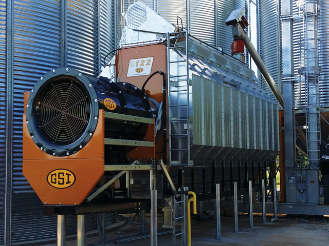A new portable dryer from GSI is easy on the ears, producing half the decibels as older models. (Photo courtesy of GSI)