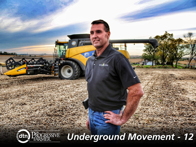 Iowa farmer Dean Meyer wants conservation practices to improve water quality to remain voluntary. (Photo courtesy of Iowa Corn Growers)
