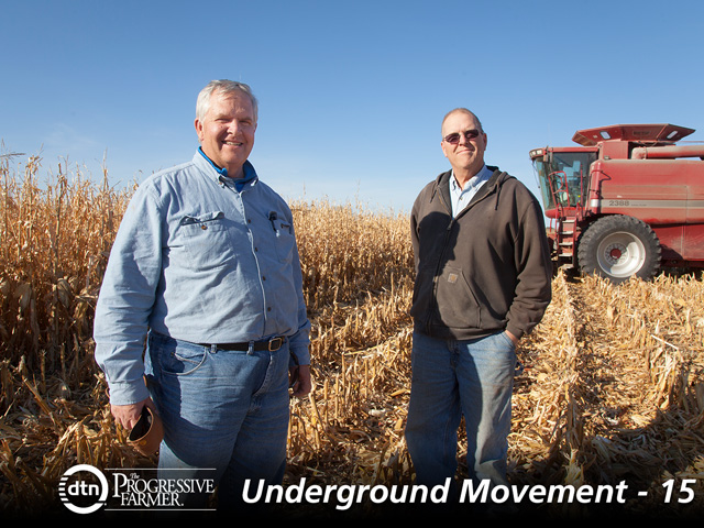 Brothers Paul and John Dubbels relied on a lot of trial-and-error shaping their farm's strip-till system. (DTN/Progressive Farmer photo by John Borge)