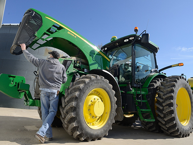 Recent state legislation wants to make embedded code available to farm equipment owners. (DTN/The Progressive Farmer photo by Jim Patrico)