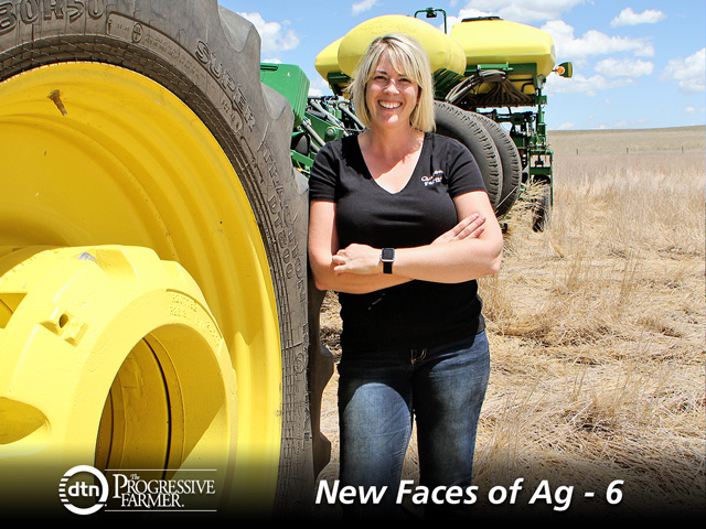 Jill Lambert knew that if she was going to make farming her profession, she had to be more than a tractor driver. (DTN/The Progressive Farmer photo by Pamela Smith)