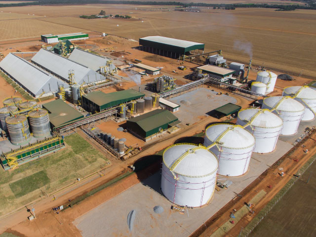 An Iowa-based company launched corn ethanol production in Brazil this week. (Photo courtesy Summit Agricultural Group)