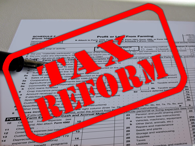 The new tax reform law makes changes regarding asset purchases and trade-ins. (DTN file photo)