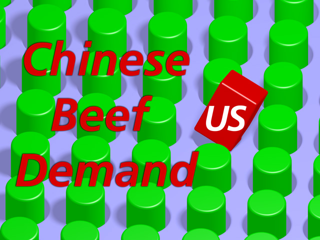 There's good news and bad news about the China market opening up for U.S. beef. (DTN Illustration by Nick Scalise)