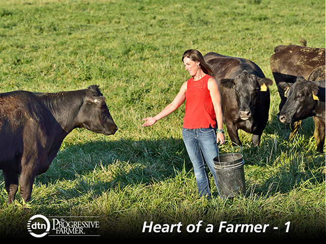 Amy Lehenbauer said when she started to work full-time on the family farm, it was critical to know where she could best contribute to the success of the overall operation. (DTN/The Progressive Farmer photo by Jim Patrico)