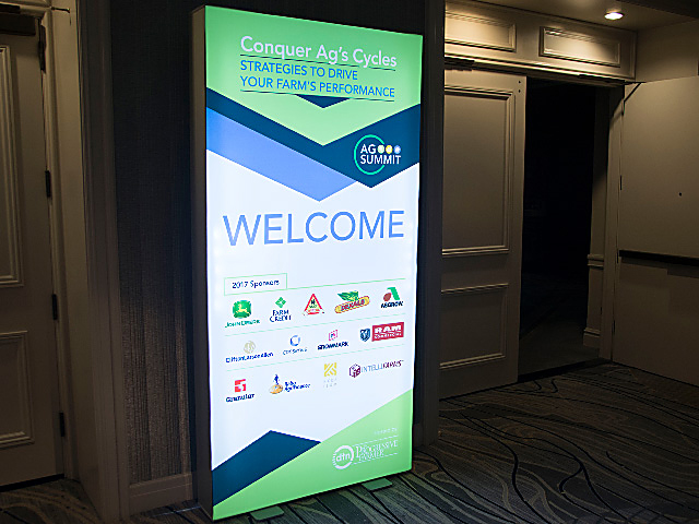 The 2017 DTN/The Progressive Farmer Ag Summit officially kicked off Monday and continues through Wednesday. (DTN photo by Nick Scalise)