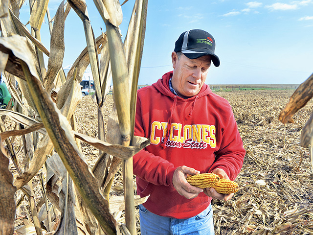 "Patrick Hammes had a ""dream"" crop year in 2016. (Progressive Farmer photo by Bob Elbert)"