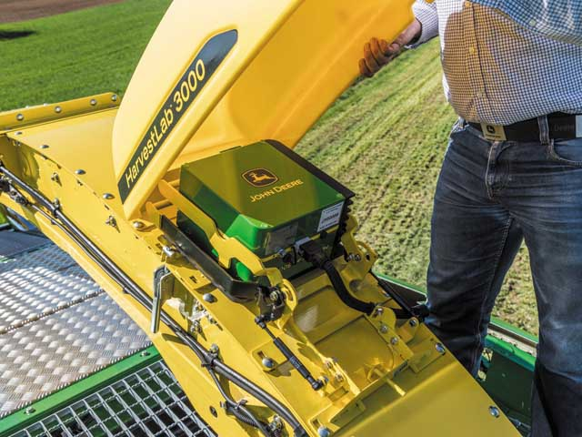 John Deere's HarvestLab 3000 (Photo courtesy of John Deere)