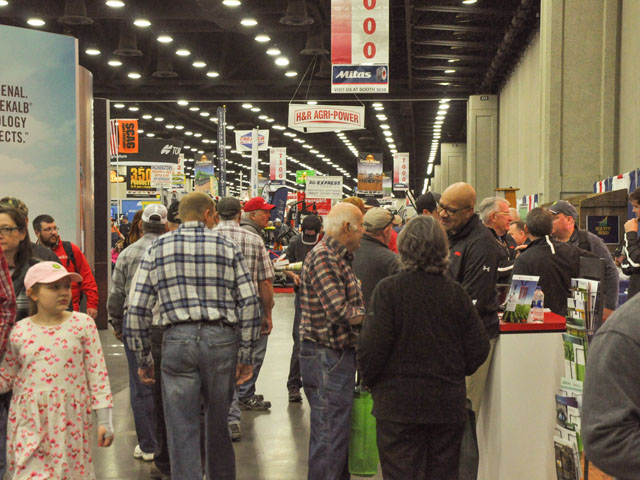 Thousands of people filled the Kentucky Exposition Center in Louisville, Kentucky, this week to get close-up views of various agricultural products at the annual National Farm Machinery Show. (DTN photo by Russ Quinn)