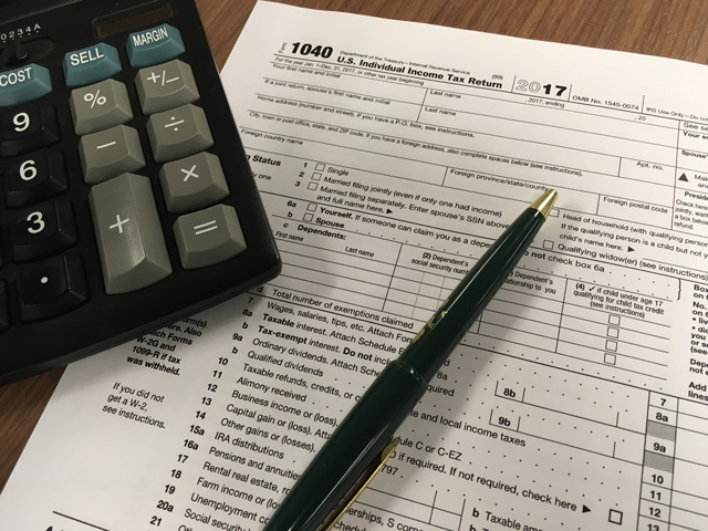 Under the new tax law, an excess business loss is not deducted on the Schedule F and does not offset self-employment income. (DTN file photo by Chris Clayton)