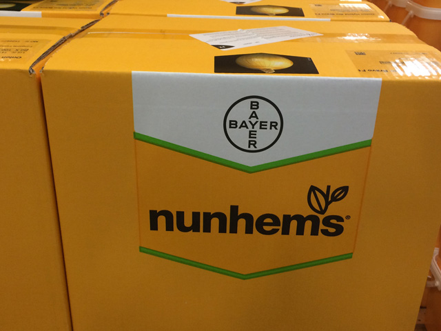 Bayer's Nunhems hybrid seed line represents over 1,200 seed varieties in 25 vegetable crops. (DTN photo by Pamela Smith)