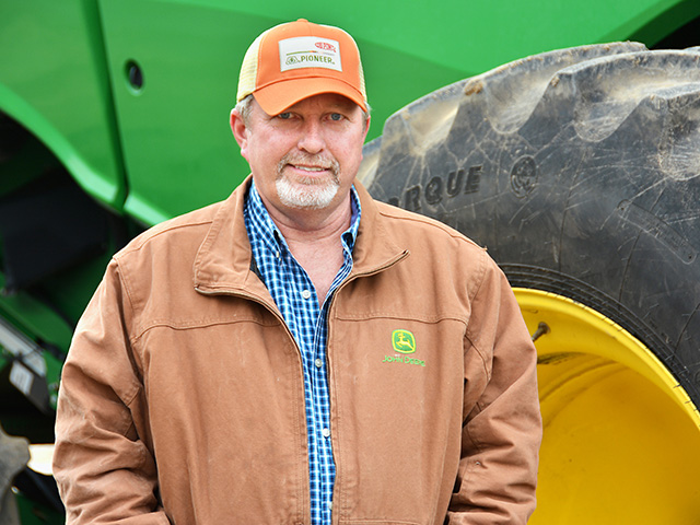 Dan Gause fine-tunes his crop nutrient program to optimize yields on his South Carolina farm. (DTN/The Progressive Farmer photo by David Rogers)