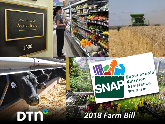 The 2018 farm bill heads to President Donald Trump's desk after two strong votes in the House of Representatives and the U.S. Senate over the past two days to finalize the legislation. (DTN photo illustration)