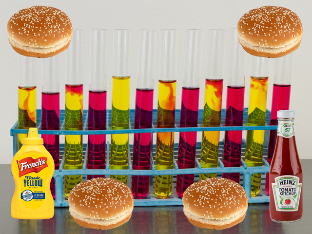 "If your hamburger originated from a test tube, can it still be called ""beef?"" (Test tubes photo by O.S. Fisher, CC BY 2.0; DTN photo illustration by Nick Scalise)"