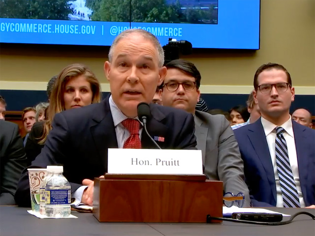 Embattled EPA Administrator Scott Pruitt resigned from the post on Thursday. (DTN file photo)