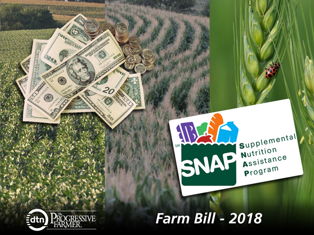 Crop insurance and commodity programs made it through the House Agriculture Committee unscathed, but conservative groups are backing bills and pushing for more reforms once the farm bill hits the House floor for debate, likely in mid-May. (DTN photo illustration by Nick Scalise)