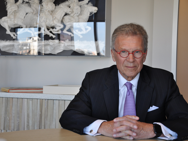 Former South Dakota Sen. Tom Daschle was an original co-sponsor of what became the Renewable Fuel Standard. He now works with an alliance seeking to increase octane standards for fuel, which would likely require higher ethanol blends for newer, high-compression engines. (DTN photo by Chris Clayton)