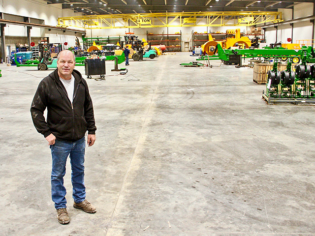 Vaughn Bauer employs more than 60 people at his Bauer Built Manufacturing operation, in Paton, Iowa. (DTN/The Progressive Farmer photo by Des Keller)