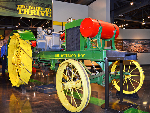 This tractor started John Deere in tractor manufacturing: the infamous Waterloo Boy. (Progressive Farmer image by Frank Holdmeyer)