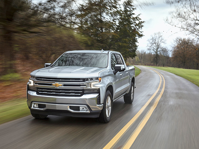 2019 Chevrolet Silverado 1500 pickup (Progressive Farmer image provided by the manufacturer)