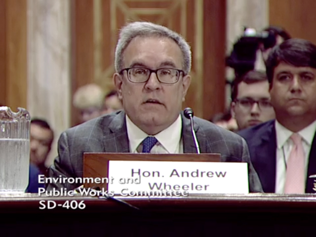 EPA Acting Administrator Andrew Wheeler talks about the agency's mission during testimony before a U.S. Senate committee on Wednesday. (DTN file photo)