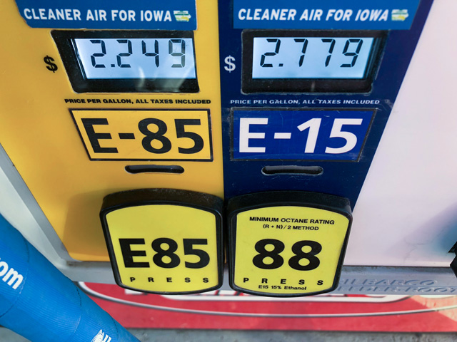 The Canadian province of Ontario points to E15 as a tool to help reduce greenhouse gas emissions. (Photo by Chris Clayton)