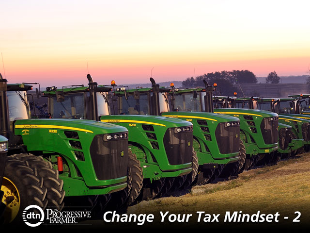 As harvest winds down, farmers are starting to turn their thoughts to next year and whether they need to make any changes in their equipment lineup. The tax rules governing trade-ins are now more complicated. (DTN file photo)