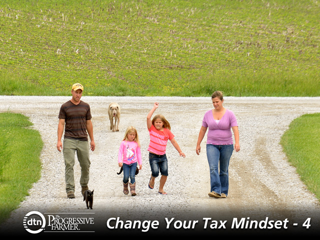 Tax planning takes long-term perspective, and recent changes make it less beneficial to gift assets and commodities during the donor's lifetime. (DTN/The Progressive Farmer file photo)