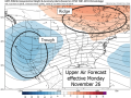 A pattern change to trough west-ridge northeast offers milder and drier Midwest conditions, along with a higher chance for precipitation in the Far West during the 10-day time frame. (TropicalTidbits.com graphic)