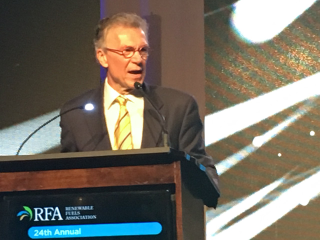 Former Sen. Tom Daschle, founder of the High Octane Low Carbon Fuels Coalition, told a National Ethanol Conference audience on Tuesday he's not sure the current Congress will be able to pass legislation