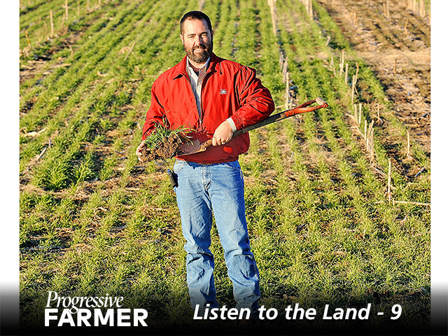 Brian Martin's work to improve his family farm's soils is paying off. (DTN/Progressive Farmer photo by Jim Patrico)