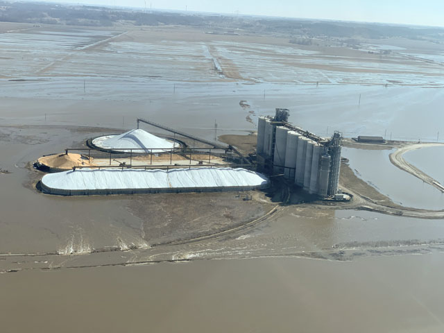 Agricultural businesses in flooded areas continue to struggle to return operations to full speed. (Photo courtesy of Richard Oswald)