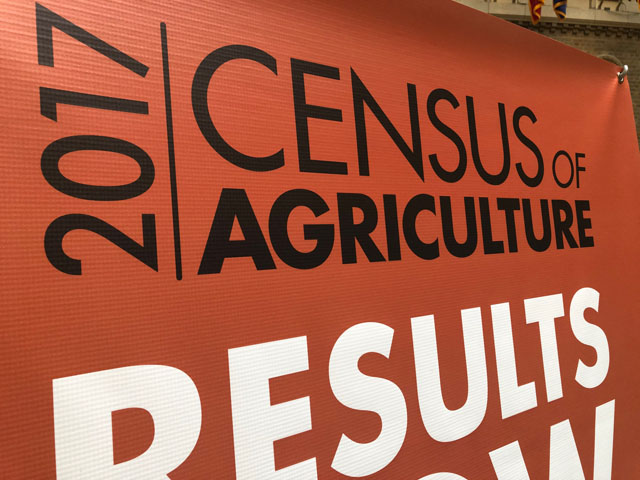 USDA on Thursday released the results of the 2017 Census of Agriculture. (DTN photo by Chris Clayton)