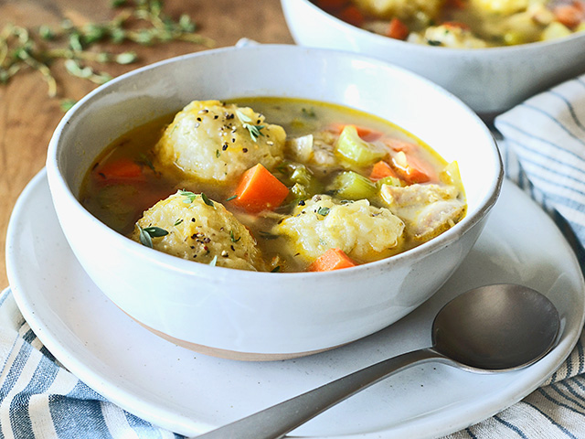 Skinny Chicken and Dumplings, Image by Rachel Johnson
