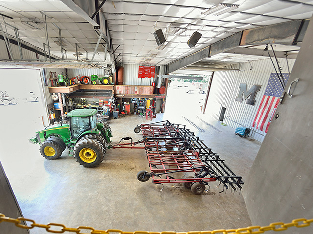 Tackling a big but low-cost project, like organizing the shop, is one way to keep employees engaged if you're facing a lot of downtime this growing season. (DTN photo by Jim Patrico)