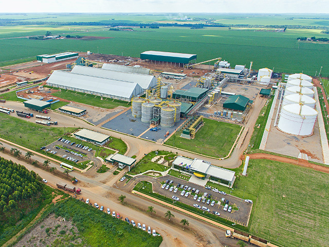 A joint venture in Brazil cofounded by an Iowa-based agriculture company has started construction on its second corn-based ethanol plant in Mato Grosso, Image courtesy of Summit Agricultural Group