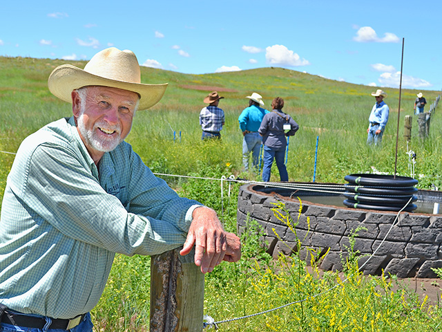 Jim Gerrish teaches livestock producers the importance of caring for forages and soils first, Image by Robert Waggener