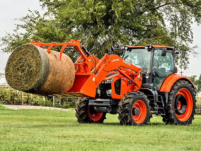 Kubota rolled out its new M7 Generation 2 tractor at the National Farm Machinery Show in February. Now, it has announced the coming production of a not-yet-revealed tractor able to perform significant row-crop work, Image provided by Kubota