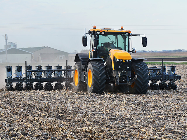 Sabanto autonomously planted soybeans near Sac City, Iowa, last month, Image by Matthew Wilde