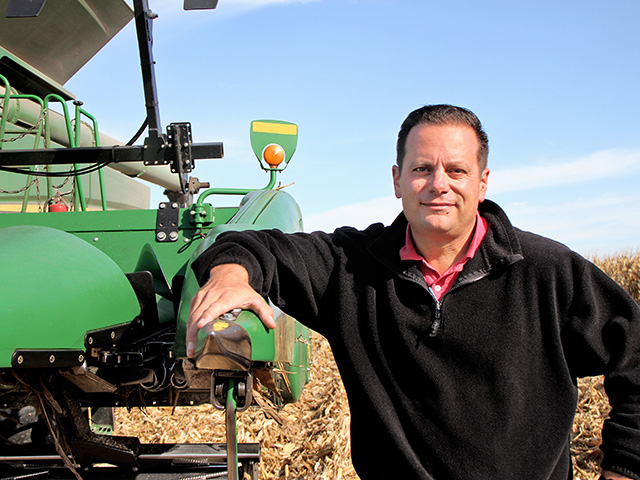 Seed treatments are helping Matt Foes manage corn nematodes on his Sheffield, Illinois, farm, Image by Pamela Smith