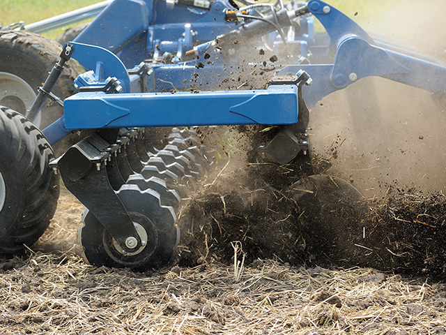 The Mach Till can work at 8–12 mph in a variety of soil conditions, Image by Jim Patrico