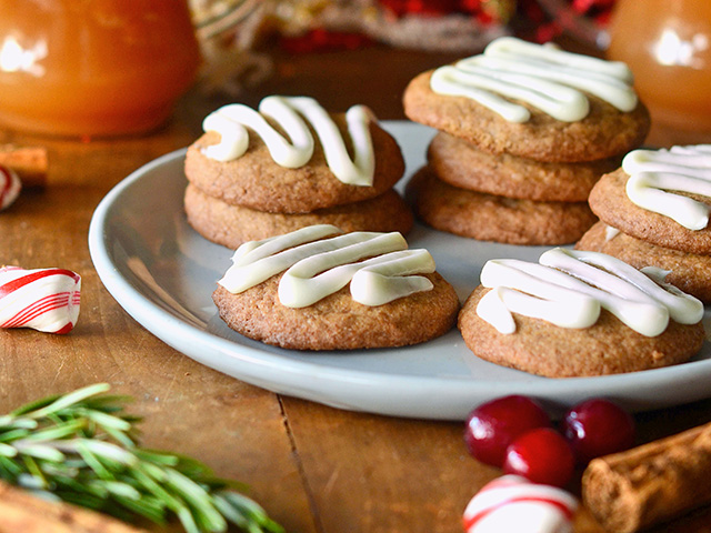 Soft Gingerbread Cookies, Image by Rachel Johnson